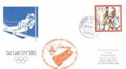 Germany 2002 Salt Lake City Olympic Winter Games - National Team Flying To Games (DD24-23) - Winter 2002: Salt Lake City