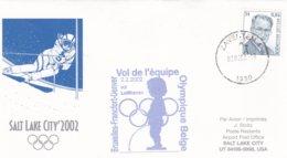 Belgium 2002 Salt Lake City Olympic Winter Games - National Team Flying To Games (DD24-23) - Winter 2002: Salt Lake City