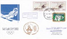 Austria 2002 Salt Lake City Olympic Winter Games - National Team Flying To Games (DD24-23) - Winter 2002: Salt Lake City