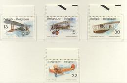 PIA  -  BELGIO  -  1994  : Vecchi Aerei  - (Yv  2540-43) - Belgio