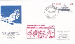 Denmark 2002 Salt Lake City Olympic Winter Games - National Team Flying To Games (DD24-23) - Winter 2002: Salt Lake City