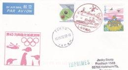 Japan  2002 Salt Lake City Olympic Winter Games - National Team Flying To Games (DD24-23) - Winter 2002: Salt Lake City