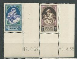 FRANCE  N°  440/41  **  CDF Daté  TB  1 Gomme D'origine - Unused Stamps