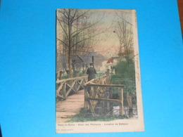 """77 ) Combs-la-ville - Vaux-la-reine """" Hotel Des Pecheurs - Location De Bateaux """" Petit Pont - Année 1905 - EDIT - Orquin - Combs La Ville"""