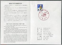Japan - Japon - Nippon - Michel 1497 - Oo Oblit. Used Gebruikt - Auf ETB - As Per Scans - 1926-89 Emperor Hirohito (Showa Era)