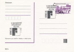 I0303 - Tschechoslowakei (1991) Brno 26: 33 Internationale Maschinenbaumesse - Fabriken Und Industrien