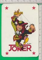 JOLLY. Carta Da Gioco. Gioco. JOKER.   BANCO DI SICILIA. CRAL ROMA - Speelkaarten