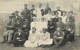 GUERRE 1914/18 - Hôpital Militaire, Carte Photo Non Située. - Croix-Rouge