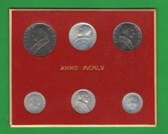 Vaticano Serie 1955 Papa Pio XII Pope Set Coins Vatikan Rare Coins - Vaticano