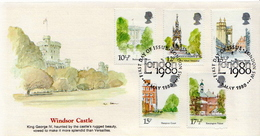 Great Britain Set On FDC - Trees