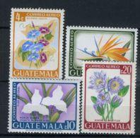 GUATEMALA ( POSTE ) : Y&T N°  362/365  TIMBRES  NEUFS  SANS  TRACE  DE  CHARNIERE . - Guatemala