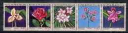 NICARAGUA ( AERIEN ) : Y&T N°  595/599  TIMBRES  NEUFS  SANS  TRACE  DE  CHARNIERE . - Nicaragua