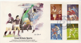 Great Britain Set On FDC - Stamps