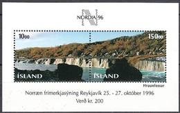 Islande Iceland Ijsland 1995  Yvertn° Bloc 18 *** MNH Cote 9 Euro Nordia 96 - Blocs-feuillets