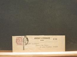 80/872   BANDE DE JOURNAUX  CREDIT LYONNAIS 2C. - 1900-29 Blanc