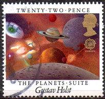 GREAT BRITAIN 1985 British Composers: 22p Gustav Holst - 1952-.... (Elizabeth II)