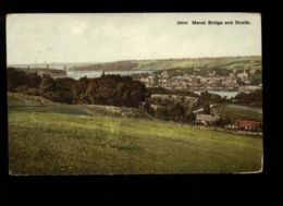 B9171 WALES - MENAI BRIDGE AND STRAITS - Galles