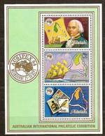 Aitutaki 1984 Yvertn° Bloc 50 *** MNH Cote 16,00 Euro Ausipex 84 - Aitutaki