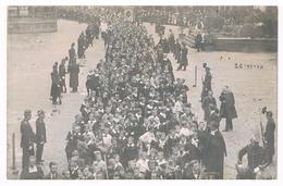 CPA Photo : NAMUR Procession Religieuse 26 Juin 1910 - Enfants , écoles - Place D'Armes , Rue De Marchovelette - Namur