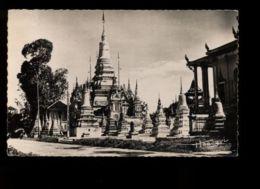 B9195 INDOCHINE - CAMBODGE CAMBODIA - PHNOM-PENH - PHNOMS WITH STAMPS - Cambogia
