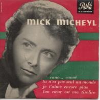 45T. Mick MICHEYL. Cano... Canoë - +3.  Préface De JEAN COCTEAU Au Dos De La Pochette - Vinyl Records