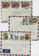 ZAÏRE (République Du) 3 Lettres Thématiques: Poissons, Sports Etc... - Zaïre
