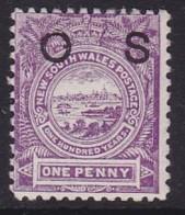 New South Wales 1888 SG O39a Mint Hinged P.12 - Nuevos
