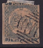 New South Wales 1851 SG 35 Used. Stuck On Piece So Dont Know What Back Is Like - Gebraucht