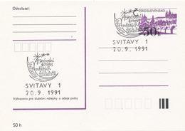 I0304 - Tchécoslovaquie (1991) Svitavy 1: 15ème Congrès National Des Jeunes Philatélistes Svitavy - Poste