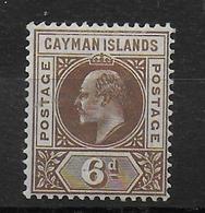CAYMAN - YVERT N° 12 * MLH - COTE = 40 EUR. - Iles Caïmans