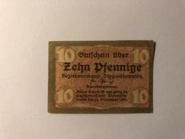 Allemagne Notgeld Dippoldswalde 10 Pfennig - Collections