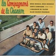 45T. Les Compagnons De La Chanson. BRAS DESSUS, BRAS DESSOUS - VERTE CAMPAGNE (green Fields) +2 - Vinyl Records