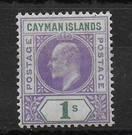 CAYMAN - YVERT N° 12 * MH - COTE = 80 EUR. - Iles Caïmans