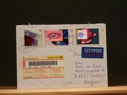 80/899   LETTRE RECOMM  POUR LA BELG. 2000 - [7] Federal Republic