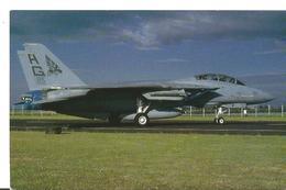 CP AVION GRUMMAN F14 A+ TOMCAT  VF-143  RAE BOSCOMBE DOWN JUNE 1990 - 1946-....: Era Moderna