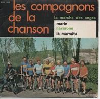 45T. Les Compagnons De La Chanson.   La Marche Des Anges  -  Marin  -  Navarone  -  La Marmite - Vinyl Records