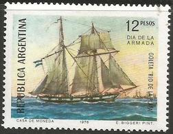 Argentina - 1976 Navy Day  MNH **   Sc 1134 - Unused Stamps