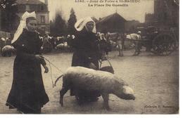 Saint-Brieux ,jour De Foire ,la Place Du Guesclin . - Foires