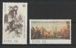 MiNr. 466 - 467 Irland / 1982, 4. Mai. Europa: Historische Ereignisse. - 1949-... République D'Irlande