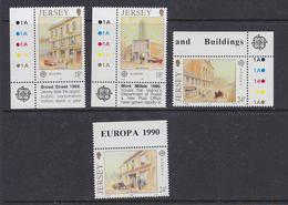 Europa Cept 1990 Jersey 4v  ** Mnh (41386) - Europa-CEPT