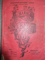 Almanach Vermot 1942 - Books, Magazines, Comics