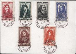 Entier Carte Postale Petain 1.20 CAD Perlé Mondicourt Pas De Calais 30 8 44 Verso YT 612 à 617 Célébrités Du XII ème - Postal Stamped Stationery