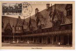 Carte Maximum Avec N°499 Hotel Dieu De Beaune Oblitérée 7/5/43  Cote Yvert : B7  85E - Maximum Cards