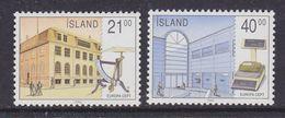 Europa Cept 1990 Iceland 2v  ** Mnh (41386A) - Europa-CEPT