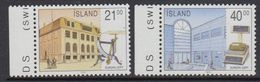 Europa Cept 1990 Iceland 2v (+margin) ** Mnh (41386B) - 1990