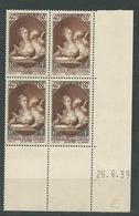 FRANCE    N°  446  **  TB 2  CDF Daté  Gomme D'origine - Unused Stamps