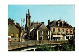 35  CP  CHATEAUBOURG  Le Pont Sur La Vilaine  2000 - Other Municipalities