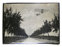 Fotografia Originale Aeronautica Pilota A. Santos-Dumont Su Demoiselle 1909 Ca. - Foto