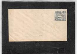 JAPON - 1872 ENTIER ENVELOPPE AVEC YV Nº 10. FLEUR DE CERISIER. NEUF - Enteros Postales