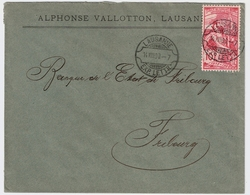 "1900, UPU, Zentr. Rasierklingen-Stp. "" LAUSANNE ""  , #a1467 - Briefe U. Dokumente"